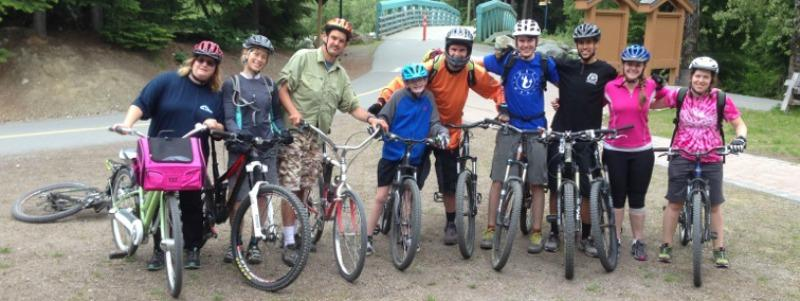 Outdoor sport, such as biking, is a great activity & environment for people on the autism spectrum