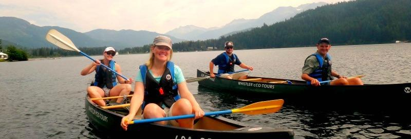 Whistler Adaptive athletes enjoy paddling on Alta Lake & Green Lake