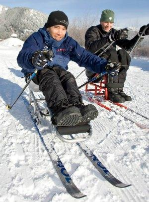Rent adaptive sport equipment like nordic sit-skis, alpine sit-skis & hand-cycles
