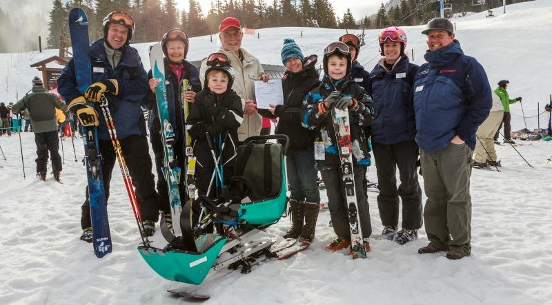 Whistler Adaptive offers a range of ski and sit-ski lessons